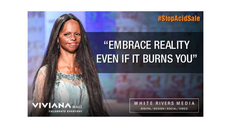 White Rivers Media wins Shorty Social Good Award for Viviana Mall's 'Stop Acid Sale' Campaign